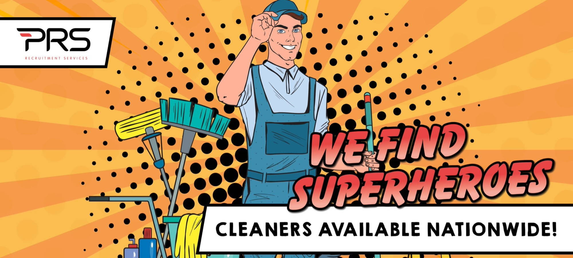 Cleaners Available Nationwide Banner Image